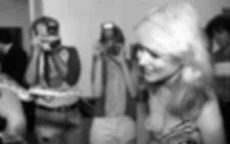 Debbie Harry meets a snake