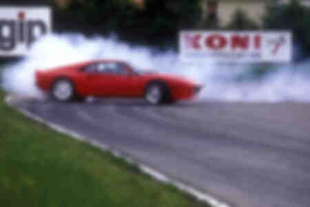 Burnout Ferrari 288GTO