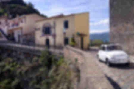 Fiat Cinquecento à Savoca Sicile