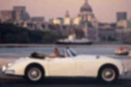 Jaguar XK150 owner