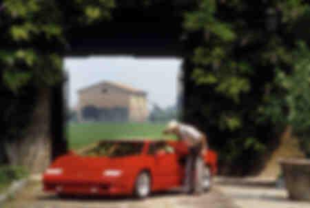 25 ° anniversario Lamborghini Countach