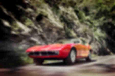 Maserati Ghibli SS à la vitesse