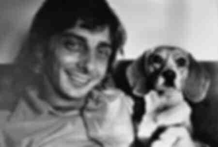 Barry Manilow och hund Bagel