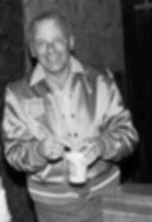 Frank Sinatra poses coffee