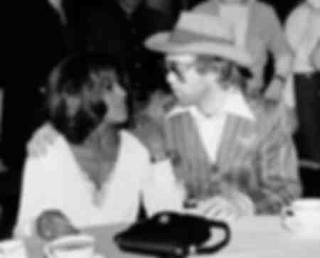 Tina Turner und Elton John 1975