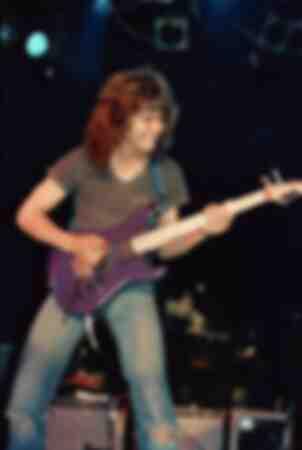 Eddie Van Halen am Roxy 29. April 1982 Dies war ein besonderer Auftritt, den er mit Allan Holdsworth machte