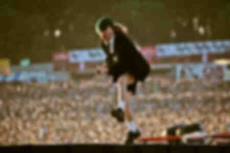 Angus Young of ACDC 2010