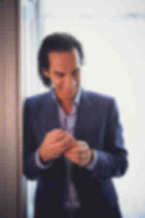 Nick Cave at home 2017