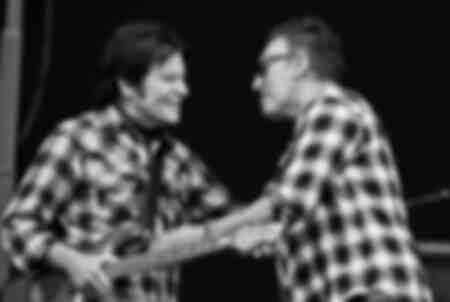 John Fogerty and Bruce Springsteen in 2012