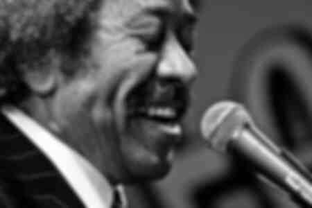 Legendary New Orleans musician Allen Toussaint performs on stage at the O2 Arena in London on 24 October 2008