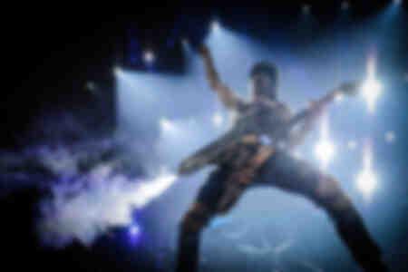 Scorpions sur scène à l'O2 Arena de Londres