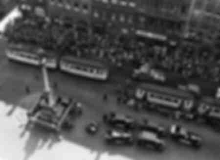 Marienplatz in München 1935