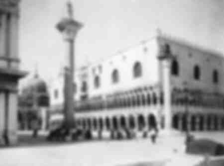 St. Mark's Square in Venice 1907