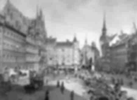 Munich Marienplatz before 1914