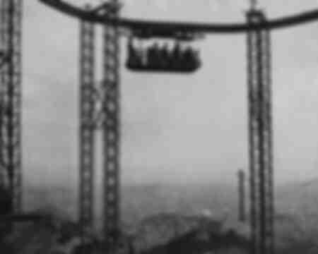 Chemin de fer suspendu au-dessus de Barcelone 1929