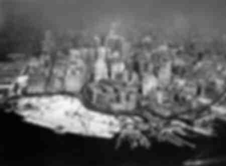 Übersicht von Manhattan in New York 1929