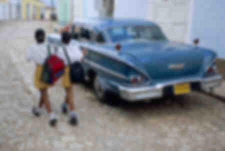 Colegialas cubanas