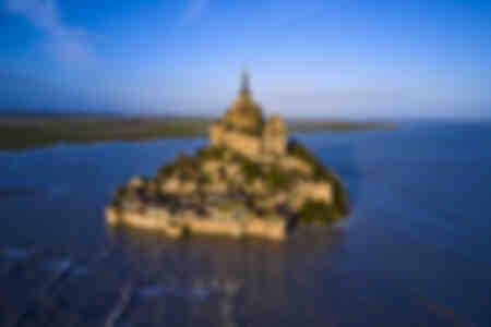 Grande marée au Mont-Saint-Michel II