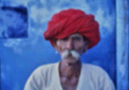 L'uomo con il turbante rosso