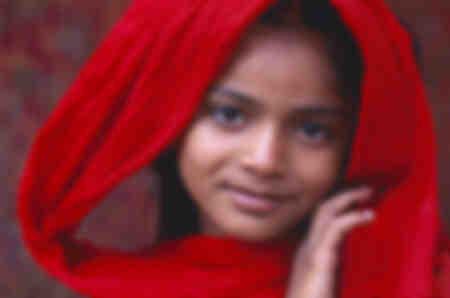 La jeune fille au madras