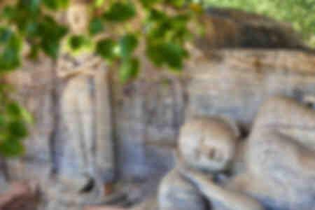 Der schlafende Buddha