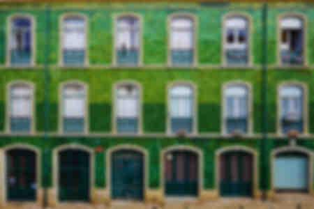 Les fenêtres de Lisbonne
