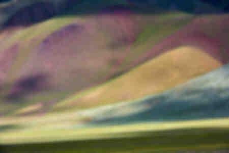 Montagnes colorées du massif de l'Altai