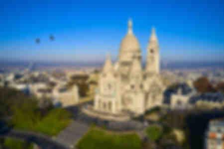 Montmartre à vol d'oiseau