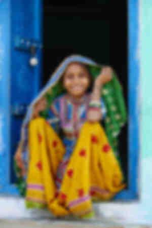 Sourire du Gujarat