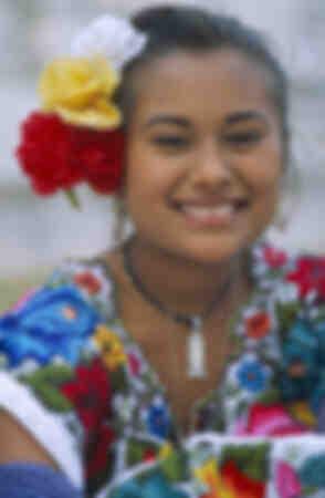 Mayan smile