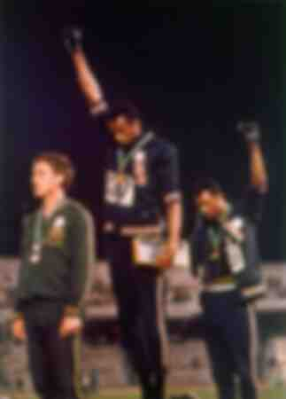 Il saluto del Black Power alle Olimpiadi del 1968