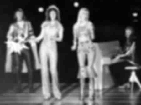 Abba à  Stockholm en SUÈDE 1975
