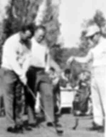 Arnold Palmer Jack Nicklaus und Gary Player