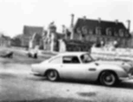 Aston Martin DB5 in James Bond 007 Thunderball oftewel Thunderball