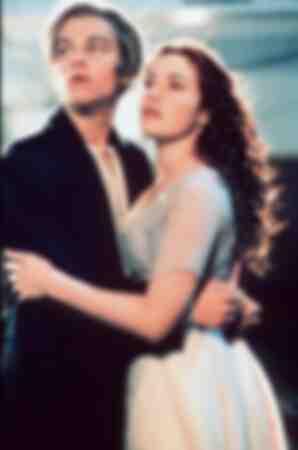 Leonardo di Caprio et Kate Winslet dans Titanic