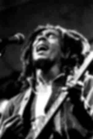 Bob Marley e il gruppo The Wailers a Central Park