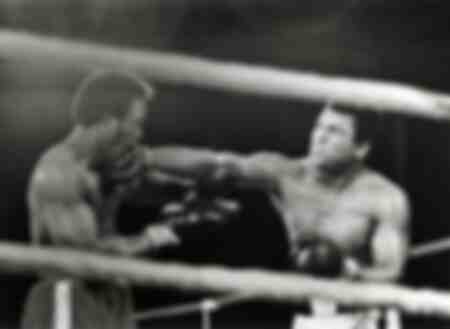 Incontro di boxe tra George Foreman e Muhammad Ali