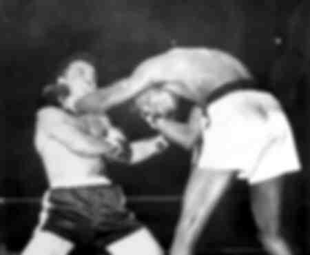 Lucha de boxeo entre Sugar Ray Robinson y Jake La Motta