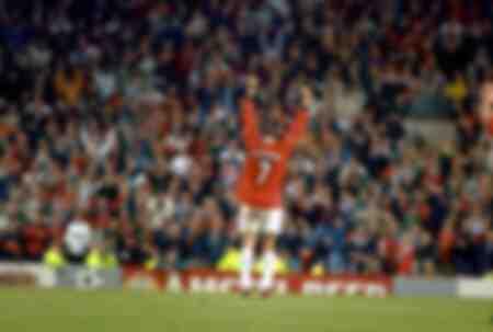 David Beckham de Manchester United applaudit