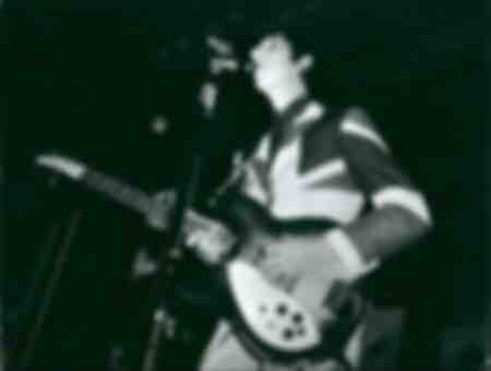 The guitarist Pete Townshend at a concert in 1969