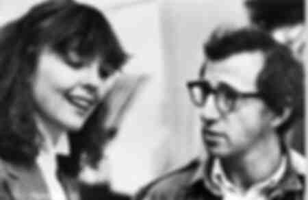 Diane Keaton och Woody Allen i filmen Manhattan