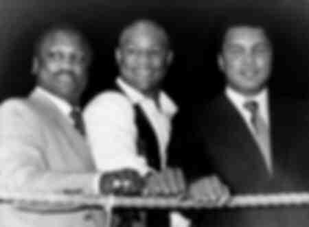Les géants de la boxe Joe Frazier - George Foreman - Mohammed Ali