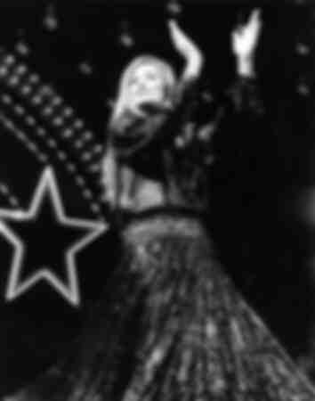 La chanteuse Dalida