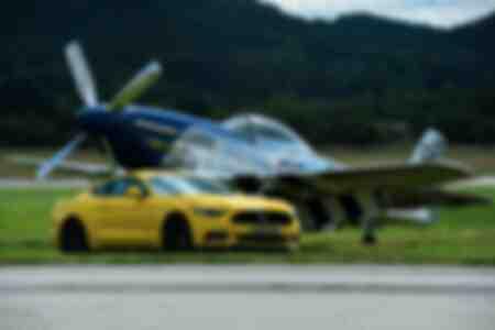 Présentation officielle de la nouvelle voiture Ford Mustang