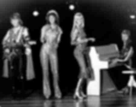 The Swedish pop group ABBA in the ZDF Star Parade