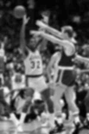 Earvin Magic Johnson contre Larry Bird