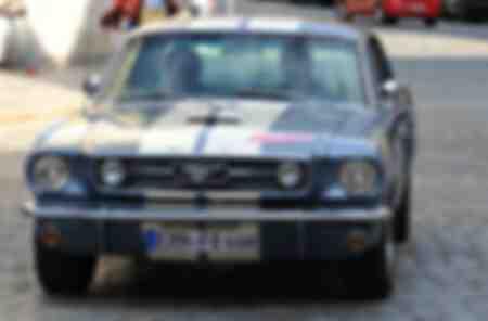 Une Ford Mustang GT de 1966 à la huitième Classique de Ratisbonne