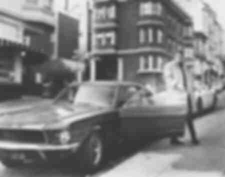 Een foto van Steve McQueen uit de film Bullit