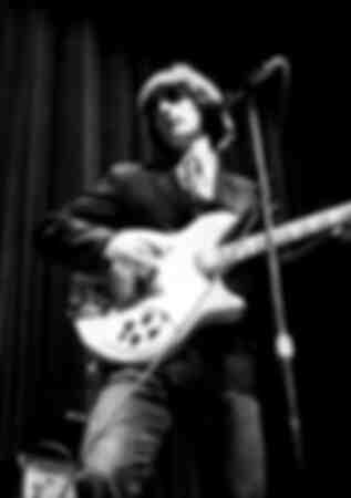 Een opname van de frontman van The Byrds