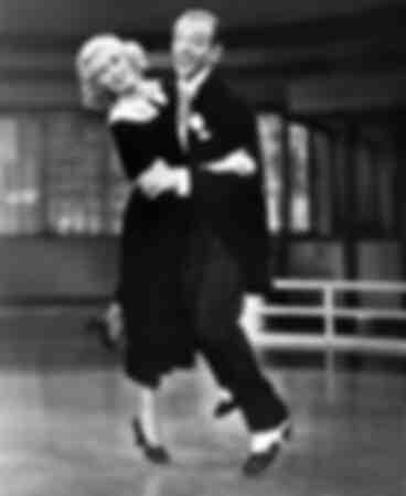 Ginger Rogers y Fred Astaire en una imagen de 1936